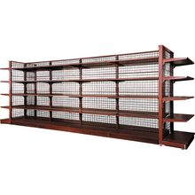 50 PITCH WIRE BACKPANEL & WOODEN SHELF